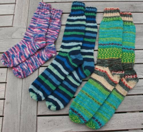 Familie sokker
